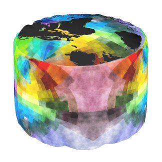 """Cushion """"Die Welt belongs to that, which enjoys"""