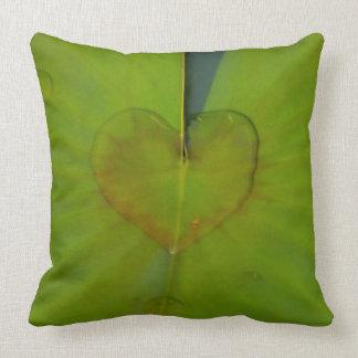 Cushion with heart