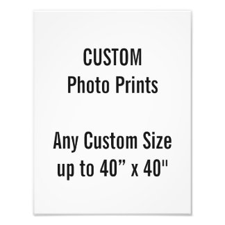 "Custom 10"" x 13"" Photo Print (or any custom size)"