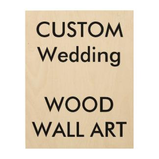 "Custom 11"" x 14"" PHOTO PRINT ON WOOD Wood Prints"