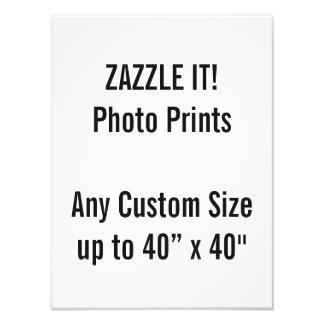 "Custom 12"" × 16"" Photo Print  US Frame Size"