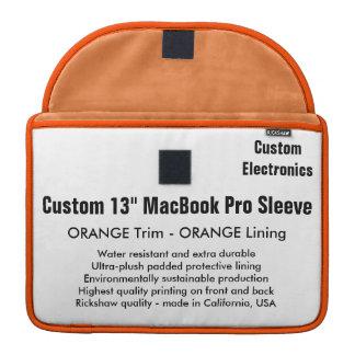 "Custom 13"" MacBook Pro Sleeve - Orange & Orange"