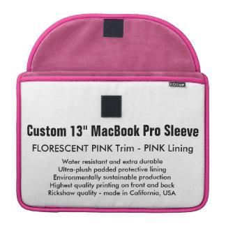"""Custom 13"""" MacBook Pro Sleeve - Pink & Pink"""
