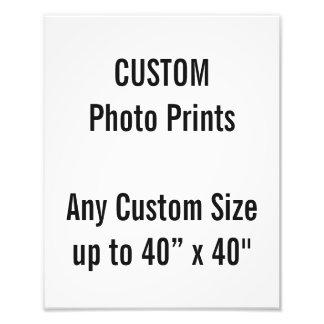 Custom 24 x 30 cm Photo Print (or any custom size)