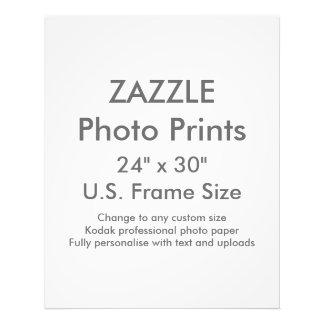"Custom 24"" x 30"" Photo Print  US Frame Size"