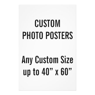 """Custom 30"""" x 45"""" Photo Poster, up to 40"""" x 60"""""""