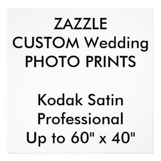 "Custom 40"" x 40"" Professional Photo Prints"