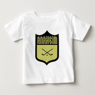Custom Anaheim Shield Logo Baby T-Shirt