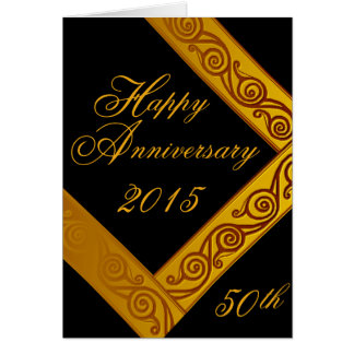 Custom Anniversary Greeting Card