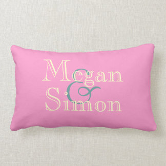 Custom Anniversary Throw Pillow