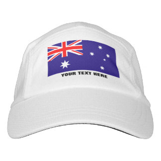 Custom Australian flag sports hats for Australia Hat