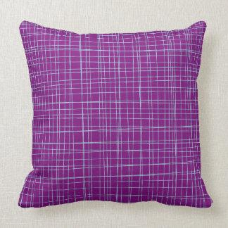 Custom Baby Blue Lines Throw Pillow