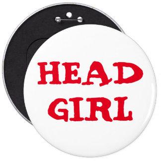 "Custom Bachelorette HEAD GIRL 6"" Button"
