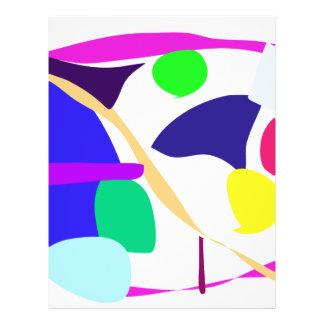 Custom Background Color Free Circle Flyer Design