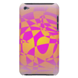 Custom Background Gold Barely There iPod Case