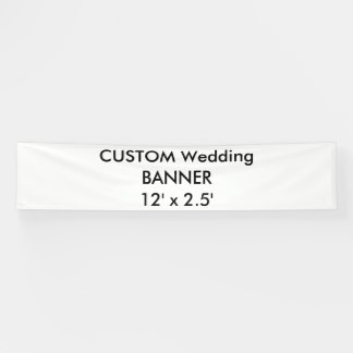 Custom Banner 12' x 2.5'