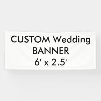 Custom Banner 6' x 2.5'
