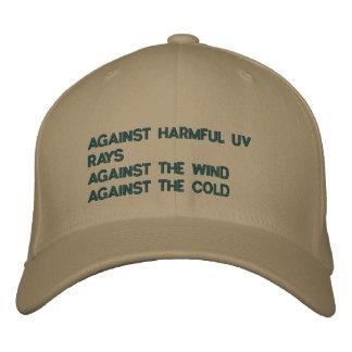 Custom Baseball Cap - Against Harmful UV Rays