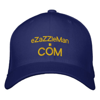 Custom Baseball Caps @ eZaZZleMan.com Embroidered Baseball Caps