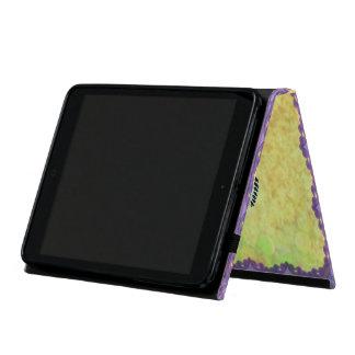 Custom Beautiful Purple Iris Flowers Butterfly Cases For iPad Mini