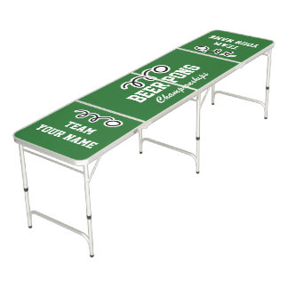 Custom beer pong table | Add your own team names