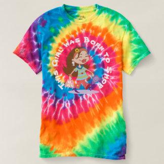 Custom Born to Shop Funky Shopping Diva Tie Dye Shirt