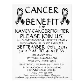 Custom Cancer Benefit Flyer