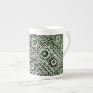 Custom Celtic Jewel China Mug