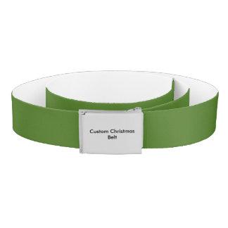 Custom Christmas Belt