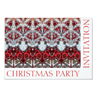 Custom Christmas Party Invitation Template Card