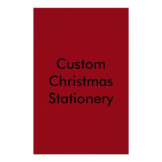 santa stationery templates