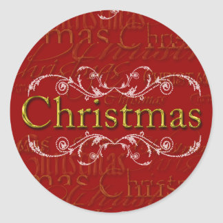 Custom Christmas Stickers