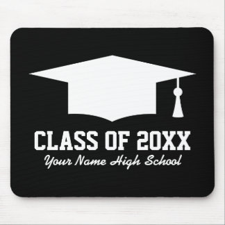 Custom class of graduation party favor mousepad