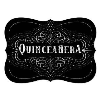 Custom Color Quinceañera South Western Invitation