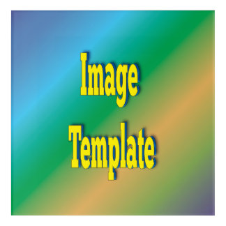 Custom Create Your Own Template Acrylic Wall Art