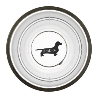 Custom Dachshund Breed Dog Bowl