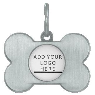 Custom Design Logo Pet Name Tag
