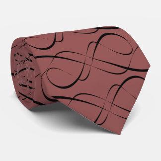 Custom Designed Curved:  Tie