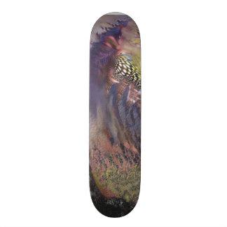 Custom Designed Skateboard-Futuristic Cool
