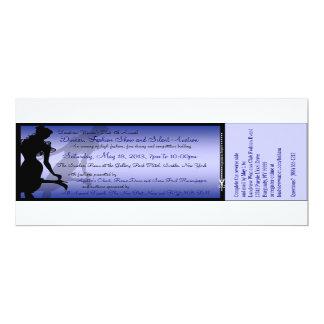Custom Dinner, Fashion Show and Silent Auction 10 Cm X 24 Cm Invitation Card