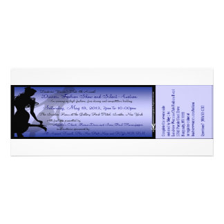 Custom Dinner Fashion Show and Silent Auction Personalized Announcement