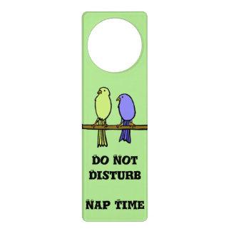 Custom Door Hanger for Birds Room