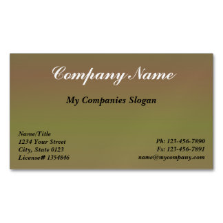 Custom Durian Gradient Magnetic Business Card Magnetic Business Cards