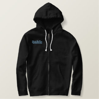 Custom Embroidered Sherpa-Lined ipaddle Zip Hoodie