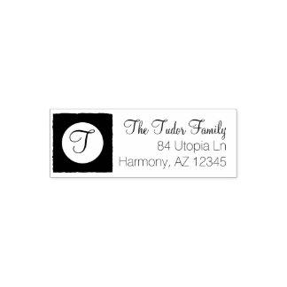 Custom Family Name | Monogram Return Address Self-inking Stamp