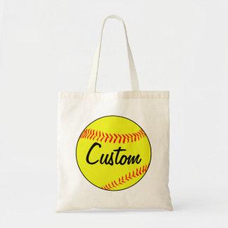 Custom Fastpitch Softball Tote Bag