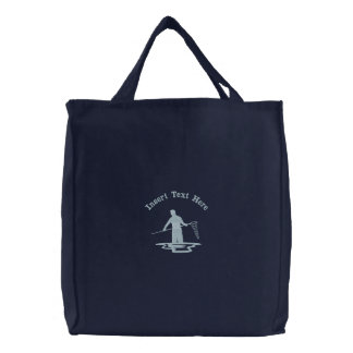 Custom Fishing Embroidered Bag