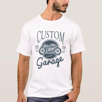 Custom garage vintage motorcycle print T-Shirt