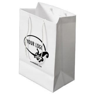 Custom Gift Bag Company Logo Branded Promotional