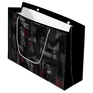 "Custom Gift Bag - Large, Glossy ""Tango"""